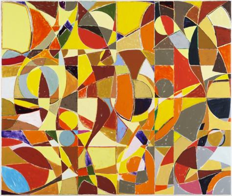Solen er en stjerne, 210 x 250 cm - 2009